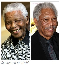 Morgan Freeman and Nelson Mandela—Are their Charts Alike ...