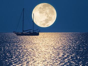 Donna Cunningham Skywriter Moon
