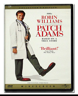 Robin William as Patch Adams