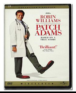 Robin William as Patch Adams